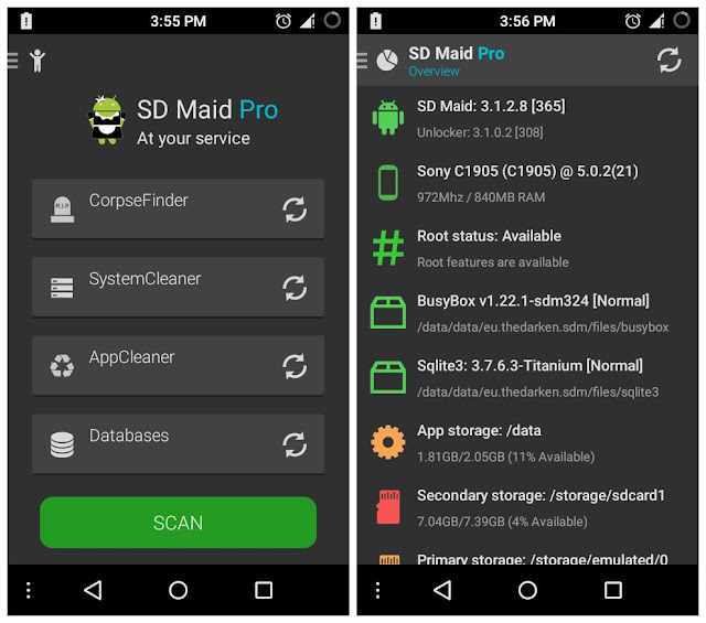 SD Maid Pro - System Cleaning Tool Unlocker
