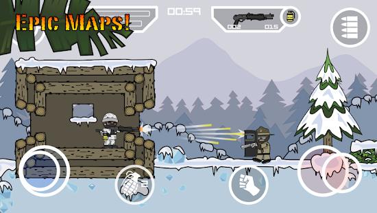 Doodle Army 2: Mini Militia Mod Apk Full