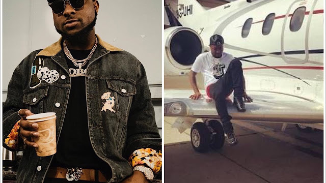Davido Speaks on his delayed Private Jet's 'Public Appearance'