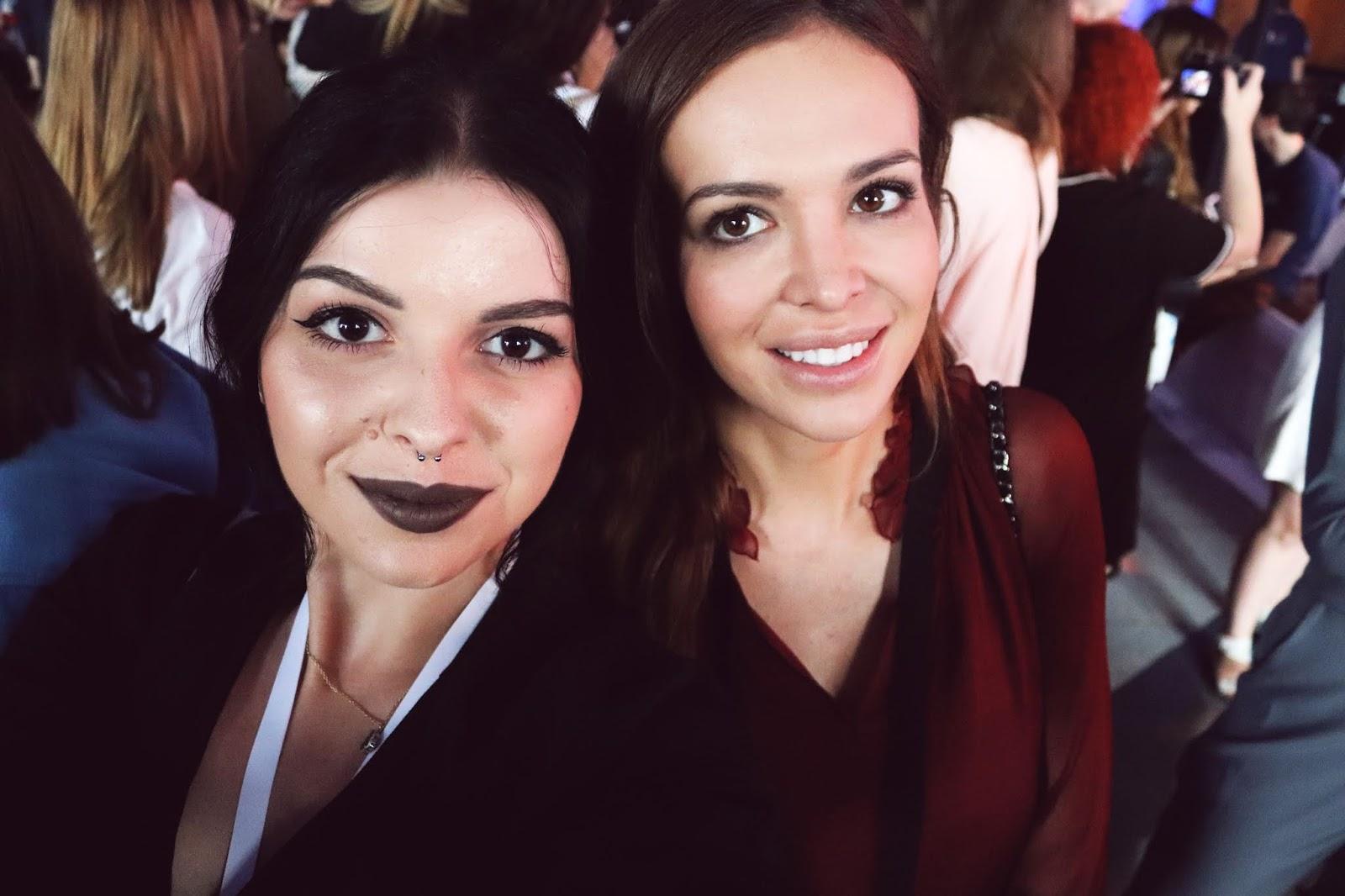 Elwira Charmuszko (Spiked Soul) i Anna Wendzikowska na See Bloggers 2018
