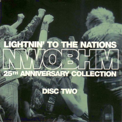 VA - Lightning To The Nations; NWOBHM 25th Anniversary Collection (CD 2) full