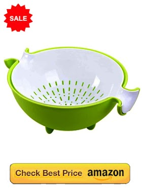 Washing Fruits and Vegetables Bowl