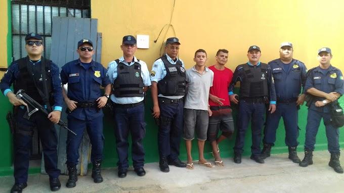 MUCAMBO-CE: Policia Militar e Guarda Municipal prendem dois fugitivos da cadeia de Frecheirinha