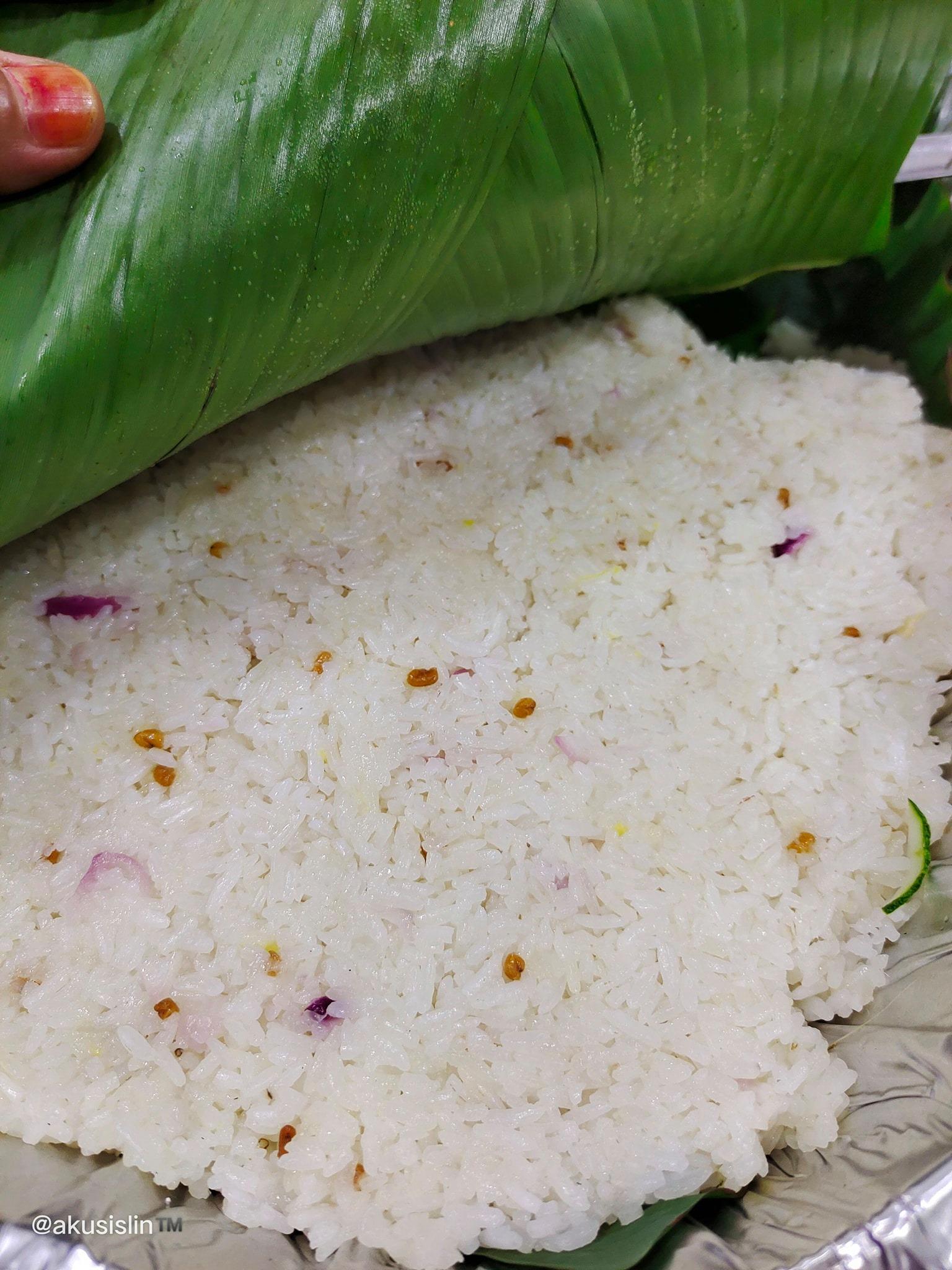 Pertama Kali Masak Nasi Dagang Trengganu, Alhamdulilah Menjadi
