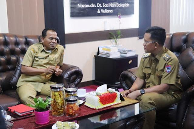 Akan Menerapkan E-SPPD di Kota Pariaman, Kadis Kominfo  Hendri Kunjungi Kota  Payakumbuh