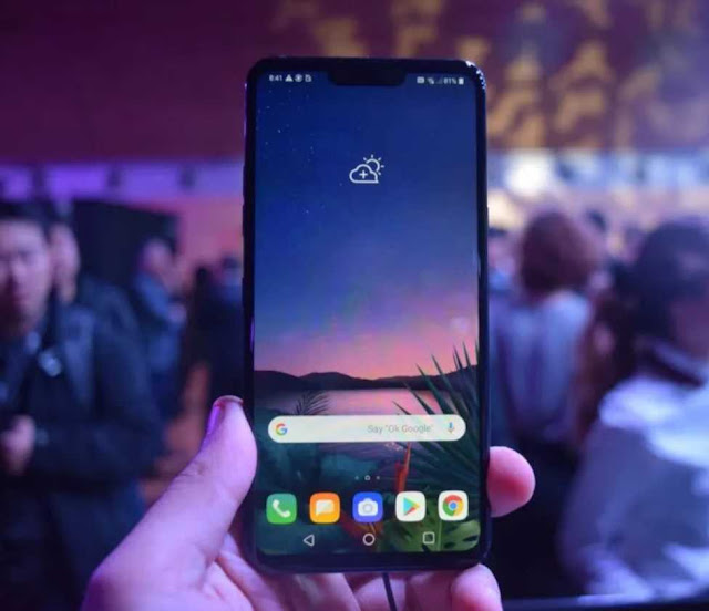 LG G8 ThinQ with Snapdragon 855 SoC