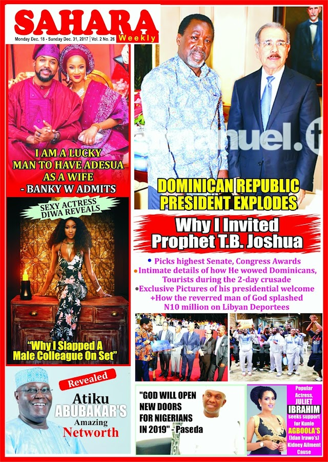 Sahara Weekly Magazine's New Edition Hits Newsstand