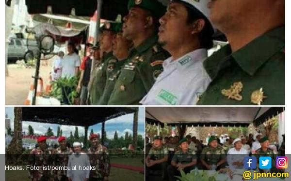 Pembuat Hoaks Sungguh Bernyali, Berani Edit Foto Pasukan Kopassus