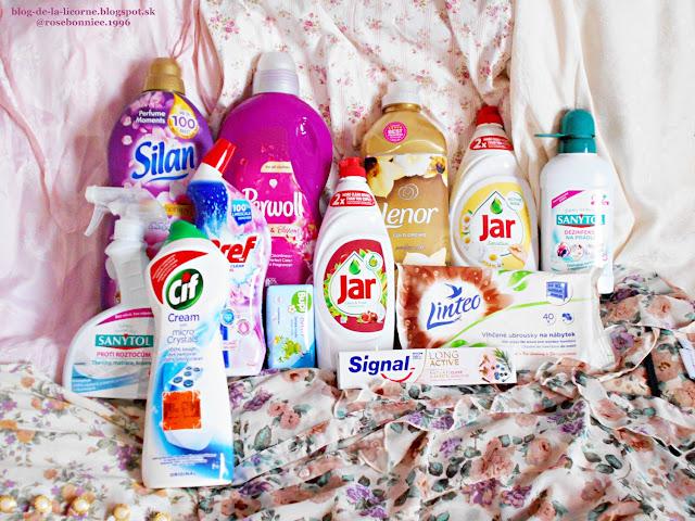 Jarné upratovanie Spring cleaning Čistiace prostriedky Pracie prostriedky Notino