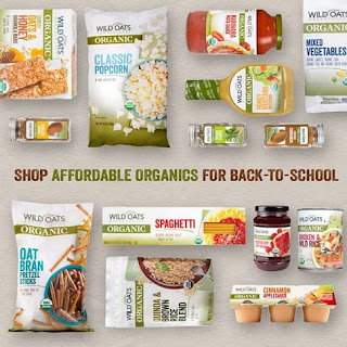 wild oats organic back to school products