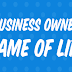 The Business Owner's Game of Life #infographic