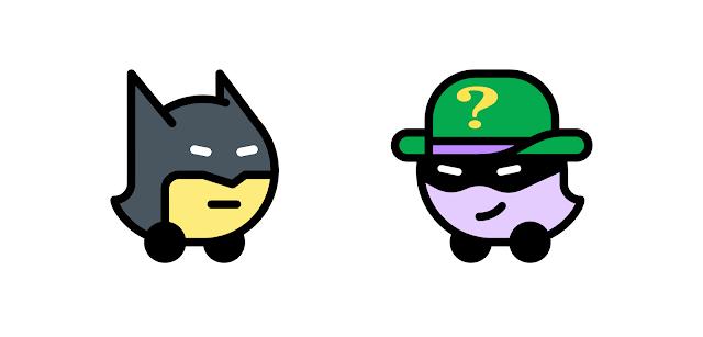 Waze Batman Experience