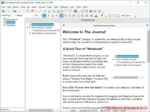 tie-smallDownload The Journal 8.0.0.1311 Full Crack