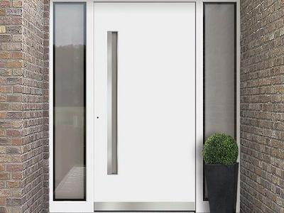 model pintu utama minimalis modern