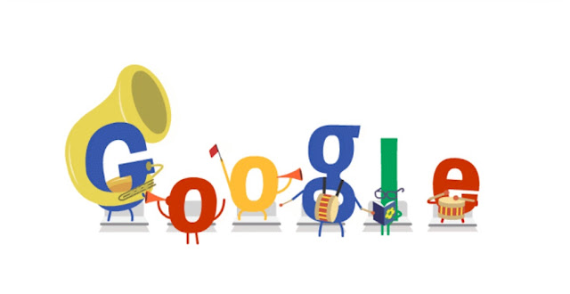 Google search engine celebration