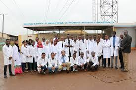 Mt. Kenya University medical courses staff. PHOTO   FILE
