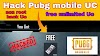 Pubg mobile Global unlimited UC free 2021