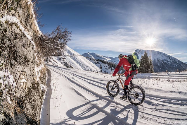 Fatbike Transalp Winter Brenner Grenzkamm