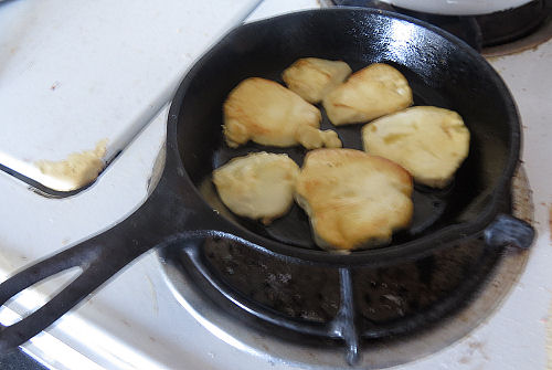 frying puffball
