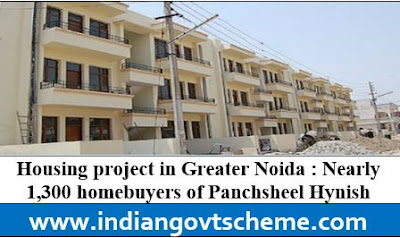 Housing project in Greater Noida