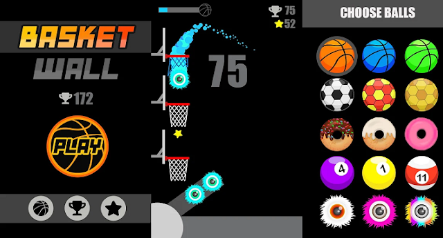 Game Basket Wall Android