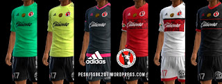 Club Tijuana Kits 2016-2017 Pes 2013