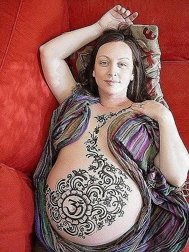 мехенди беременным