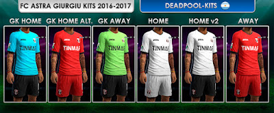 FC Astra Giurgiu GDB 2016-17 by DEADPOOL-Kits