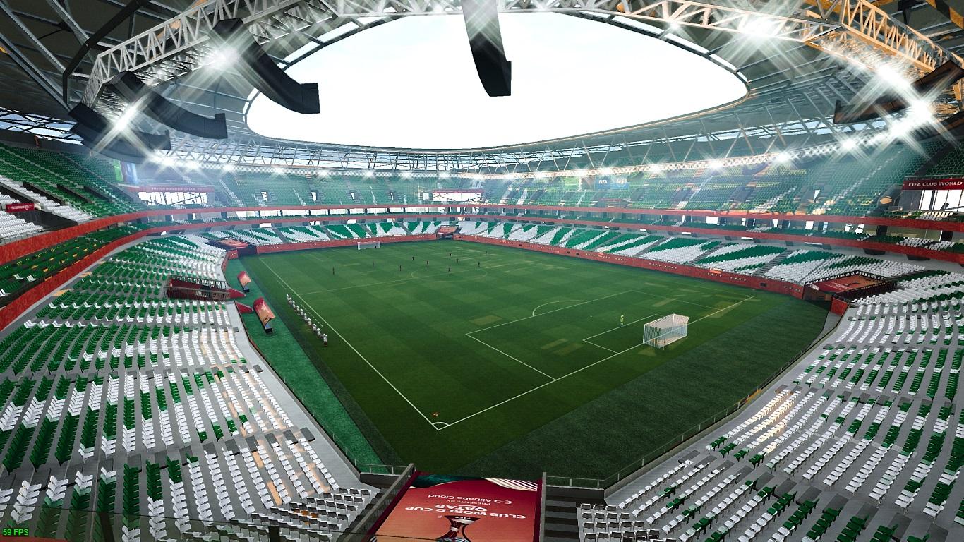 PES 2021 Education City Stadium - FIFA World Cup 2022 & FCW