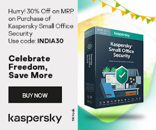 KASPERSKY announce 30% discount for MSB