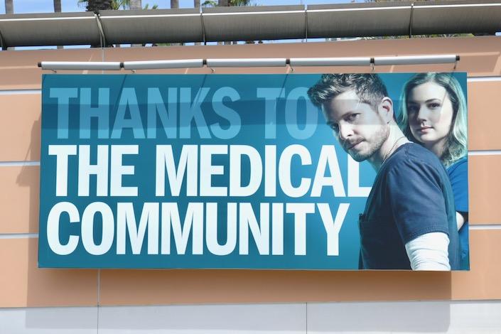 Thanks medical community Resident billboard