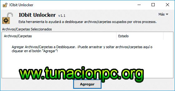 IObit Unlocker Final, Desbloquea Imagen