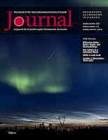 cover of the October '21 JRASC