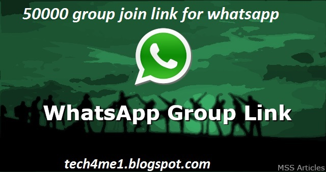 Updated] 50000 Whatsapp Group Link With Join Links 2019