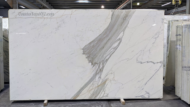 Calacatta Gold Marble Slab in NYC