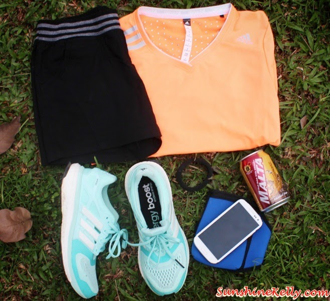Adidas Energy Boost, Minty Green, Adidas Climachill Training Tee, Bright Orange, Adidas Running, Adidas, Adidas Climachill