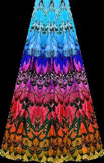 Beautifull Animal skin lehenga design 7093