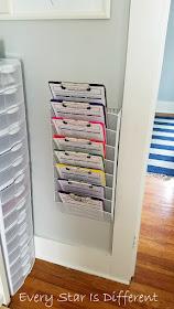 Montessori-inspired Daily Tasks Checklist Storage