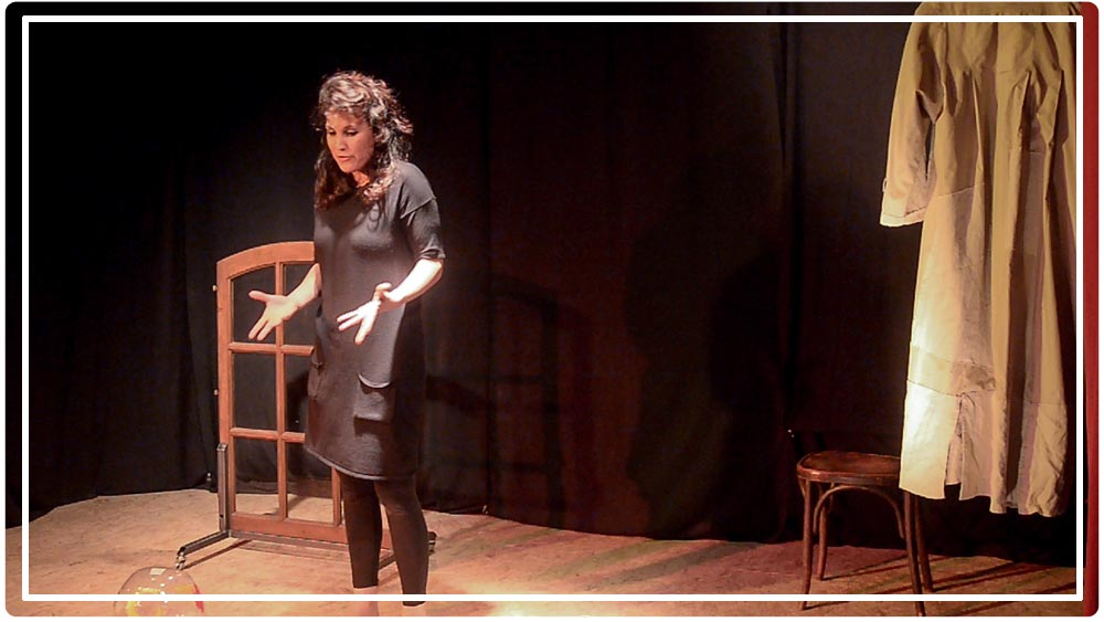 création théâtre sur Paris Bérénice Benedetto