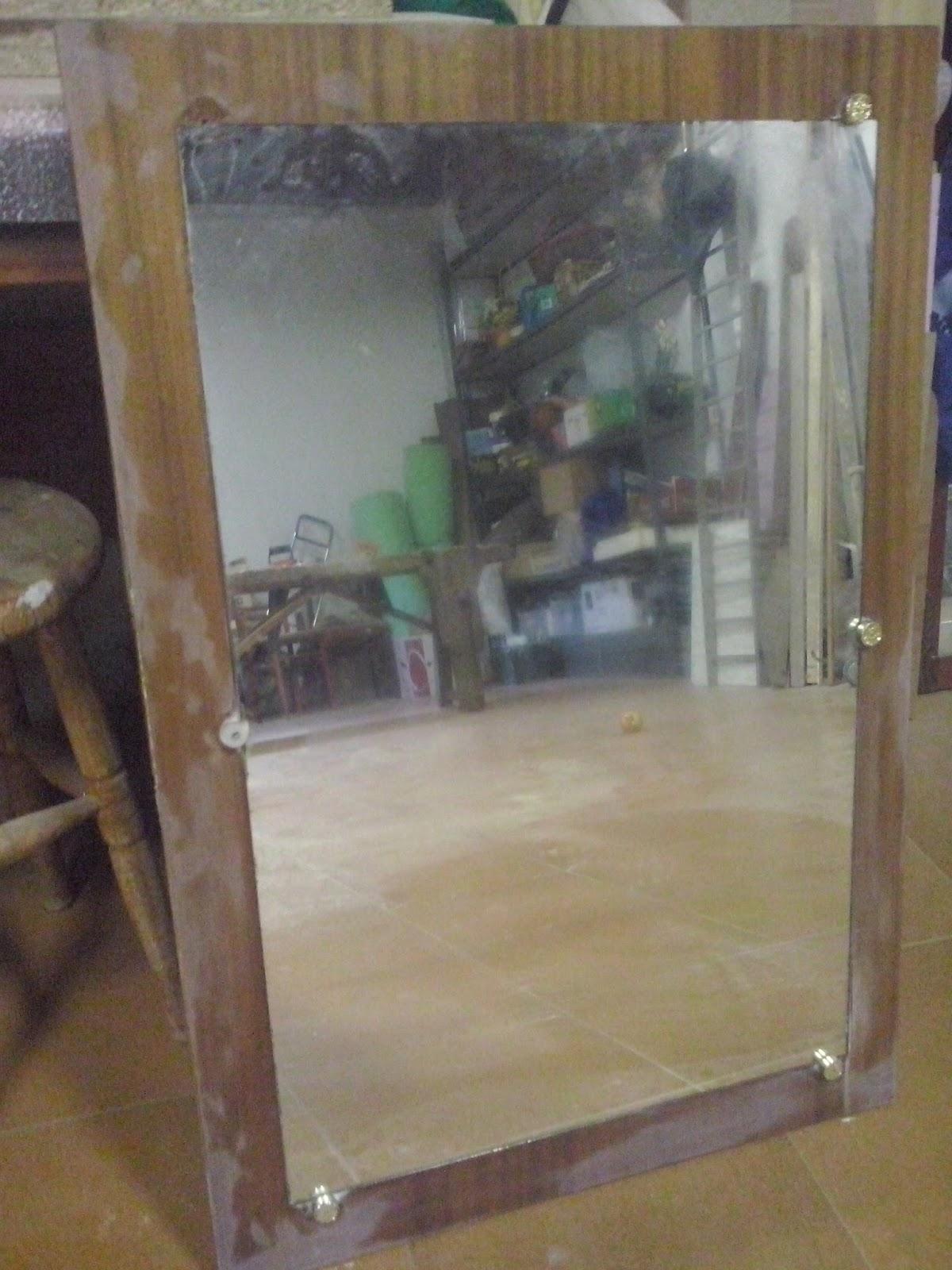 Decoraconmar a espejo para tocador estilo n rdico - Espejo nordico ...
