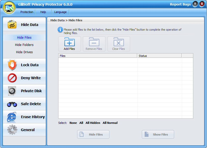 GiliSoft Privacy Protector Free