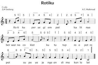 Lirik lagu 'Rotiku' www.simplenews.me