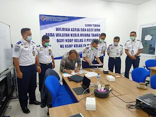 KSOP Patimban Serahkan Wilayah Kerja Muara Tawar dan Aset ke KSOP Marunda