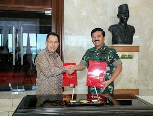 TNI dan UI Kerja Sama Bidang Pendidikan dan Penelitian