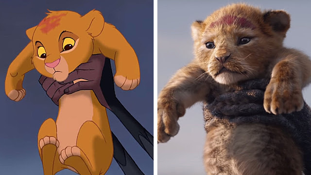 The Lion King: 1994 and 2018