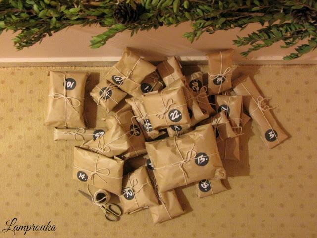 Πως να φτιάξεις χριστουγεννιάτικο ημερολόγιο.