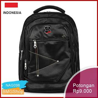 NAG098 Tas Punggung Tas Ransel Laptop Free Usb Backpack Bmgshop