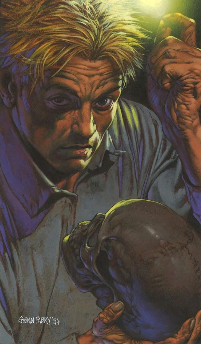 FANFIC - Hellblazer: O Crânio Do Poeta Sem Nome