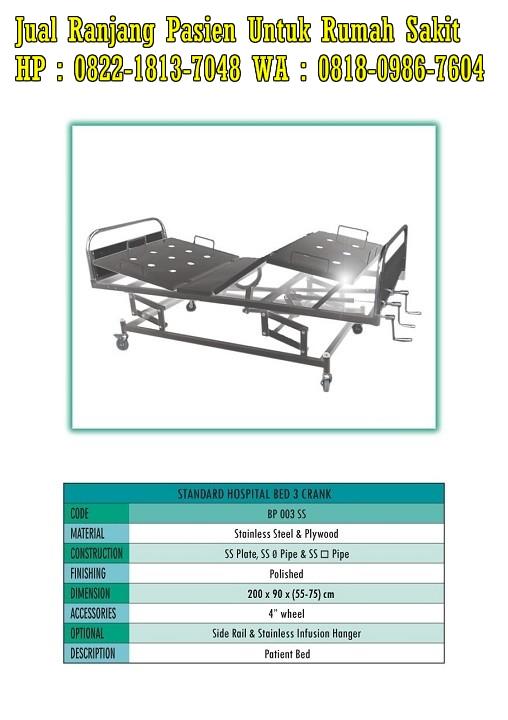 Alat kesehatan tempat tidur pasien