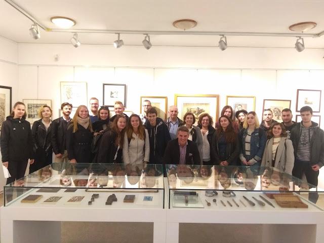 """Φοιτητές του προγράμματος """"Erasmus"""" επισκέφθηκαν την Κοινότητα Ζίτσας"""